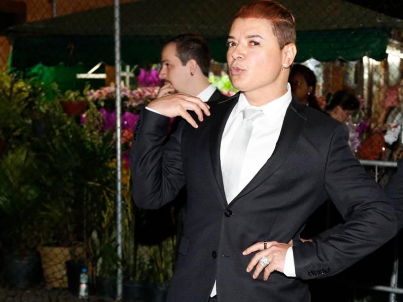 David Brazil no casamento de Preta Gil e Rodrigo Godoy