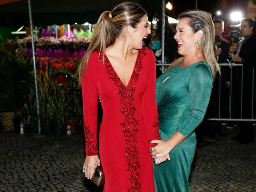 Fernanda Paes Leme e Fernanda Souza