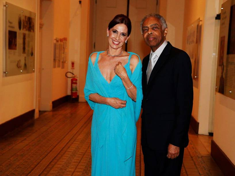 Gilberto Gil e a mulher, Flora Gil