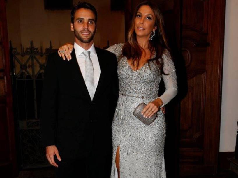 Ivete Sangalo e o marido Daniel Cady