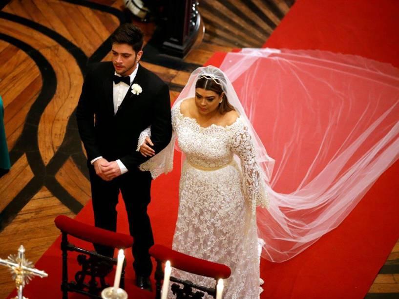 Casamento de Preta Gil e Rodrigo Godoy na Igreja Nossa Senhora do Carmo, no Rio de Janeiro