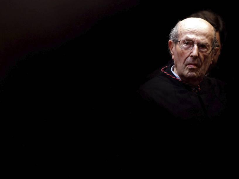 O diretor português de cinema Manoel de Oliveira em 2011