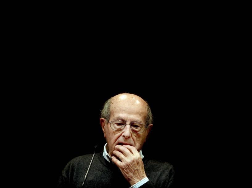 O diretor português de cinema Manoel de Oliveira em 2009