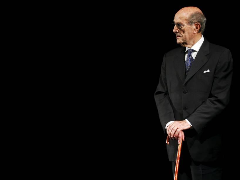 Manoel de Oliveira no Festival de Cannes em 2008