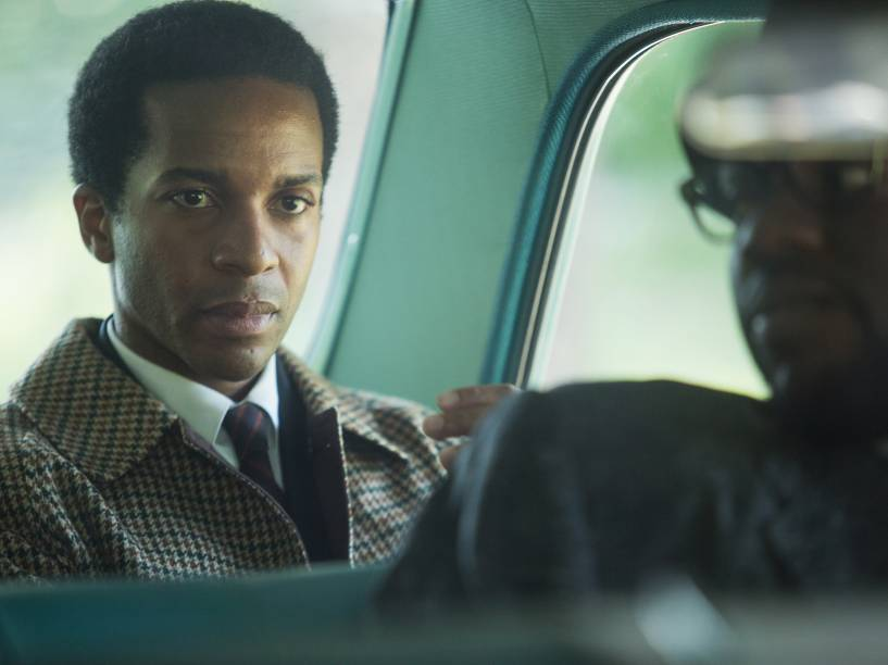 Andre Holland como Andrew Young no filme Selma