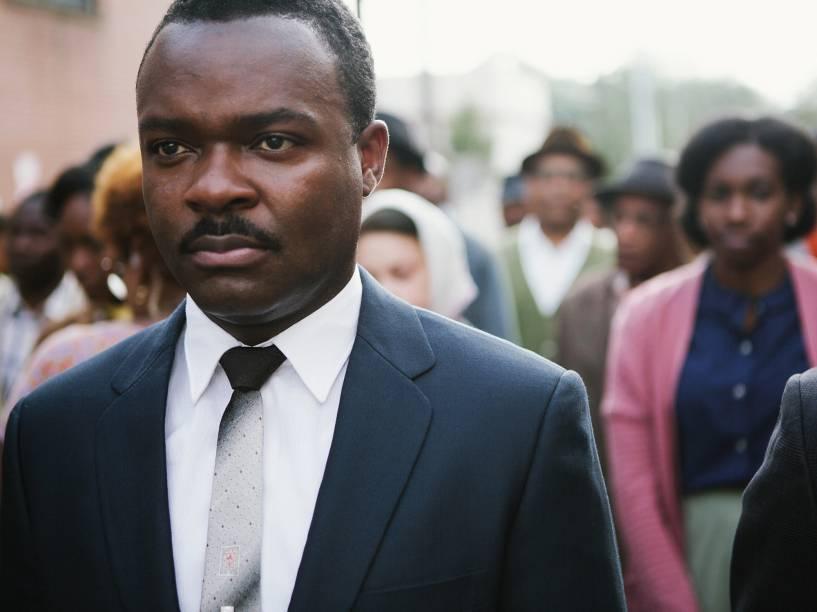 David Oyelowo no papel de Martin Luther King Jr. no filme Selma