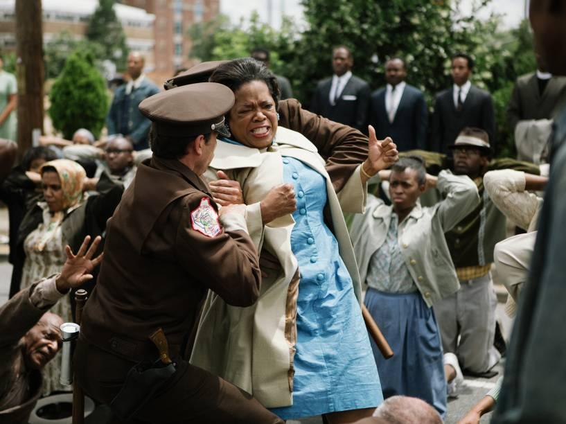 Oprah Winfrey em cena do filme Selma