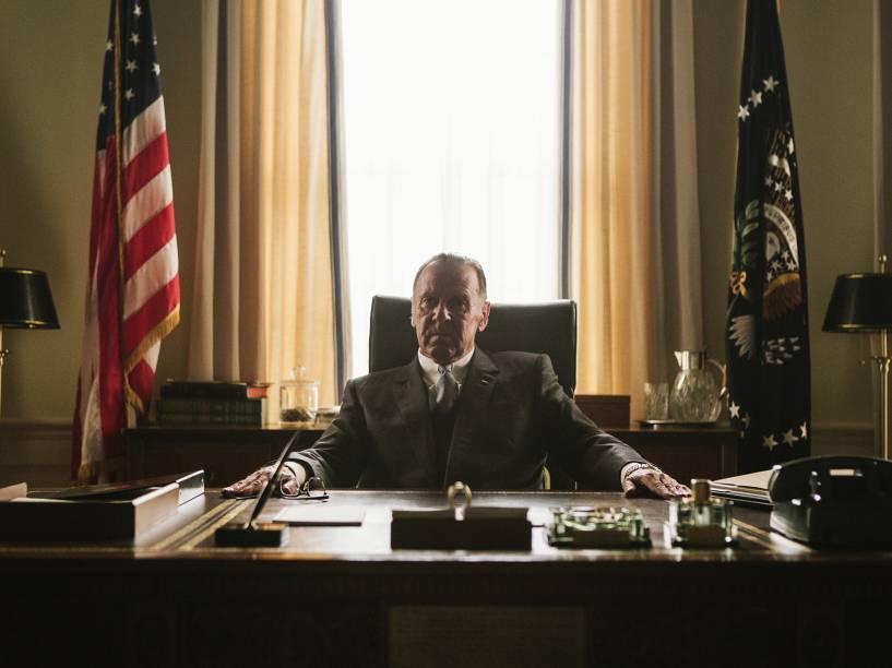 Cena do filme Selma com o ator Tom Wilkinson