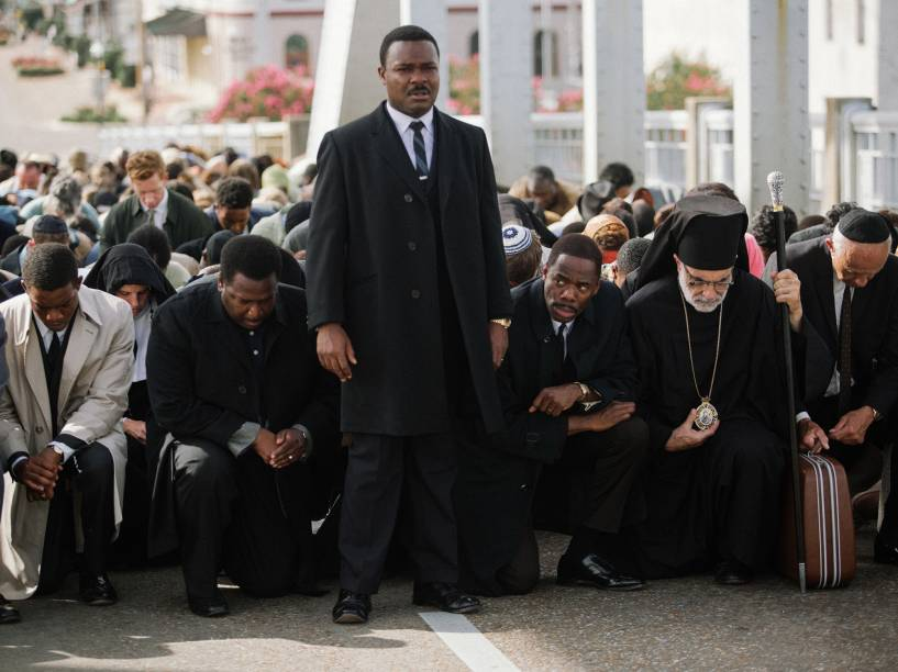 David Oyelowo como Martin Luther King Jr. no filme Selma