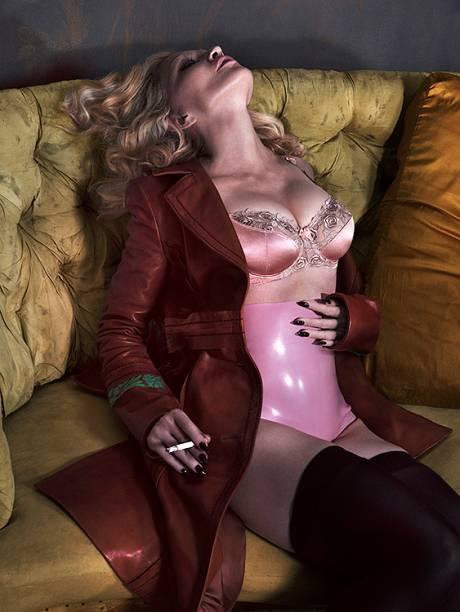 Ensaio de Madonna para a Interview Magazine