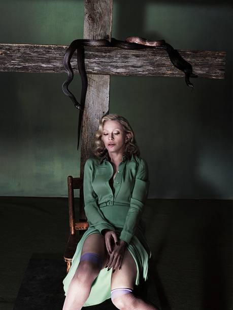 Madonna em ensaio para a Interview