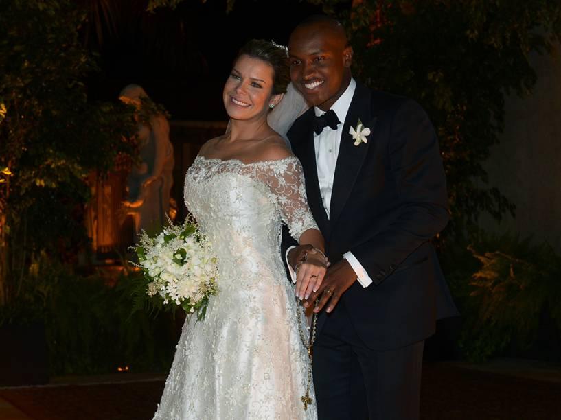 Thiaguinho e Fernanda Souza se casam no bairro de Jardins, zona Oeste de São Paulo