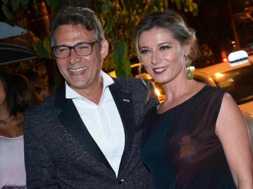 Famosos prestigiam o casamento da atriz Fernanda Souza com o cantor Thiaguinho, na zona Oeste de São Paulo