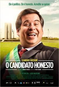 Cartaz do filme 'O Candidato Honesto' que estreia neste quinta (02)