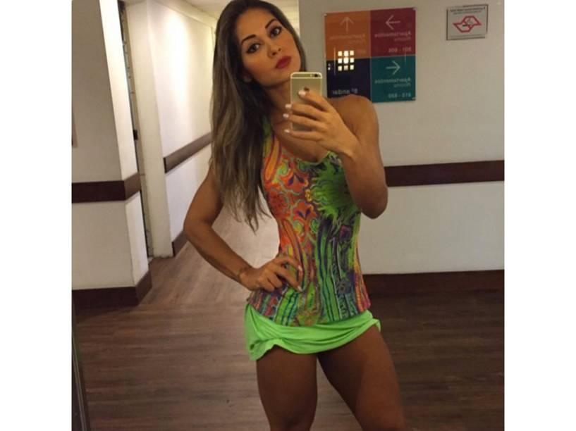 A ex-BBB Mayra Cardi