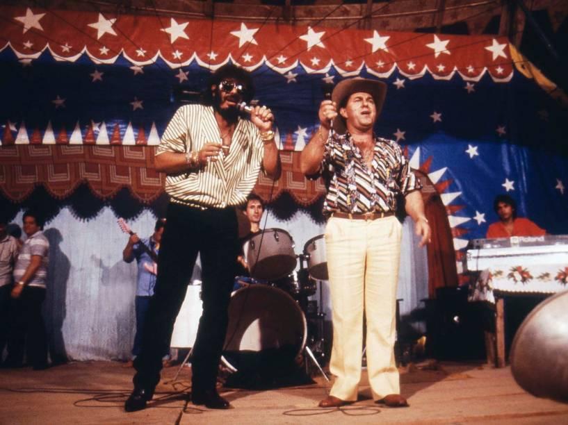 Show da dupla Milionário e José Rico em setembro de 1986