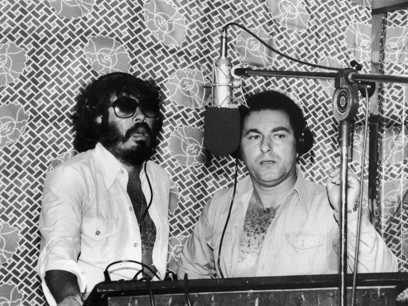 A dulpa Milionário e José Rico em 1981