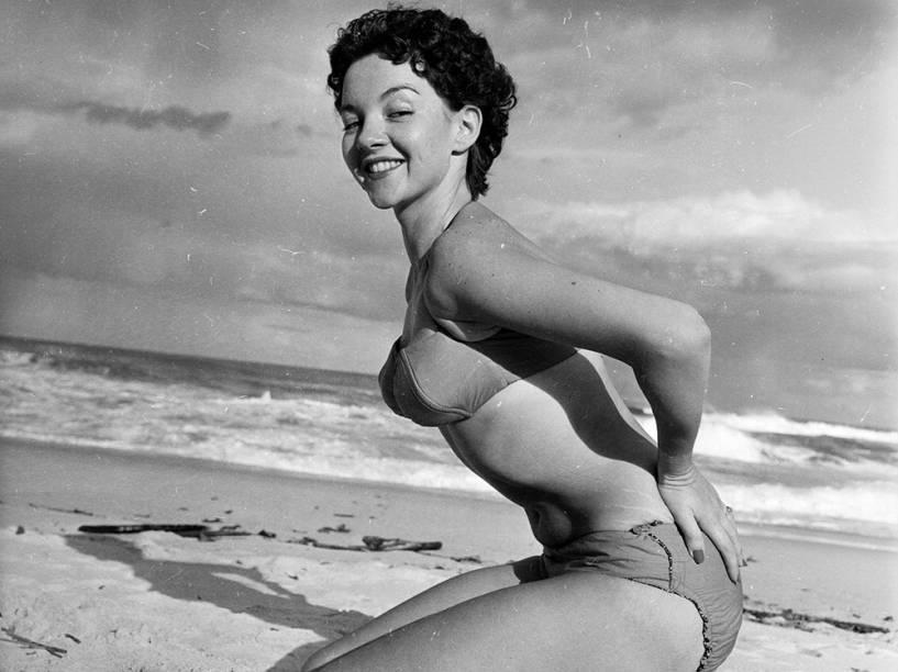 Carole Holland em 1956