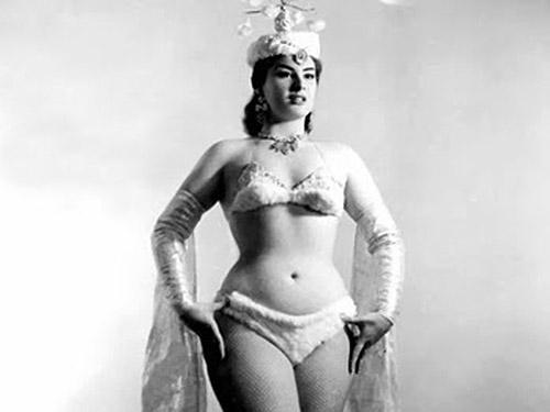 Wilza Carla em 1956