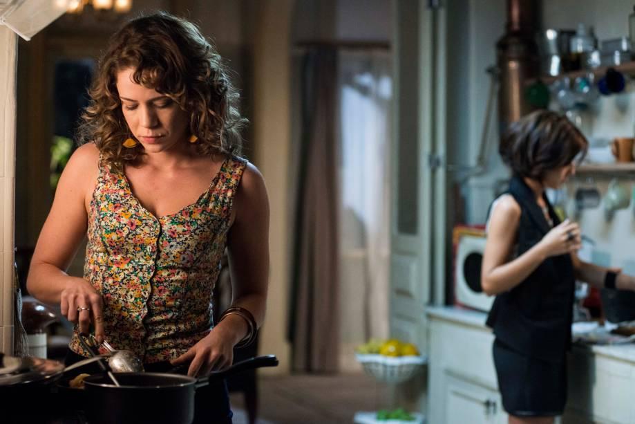 Cristina (Leandra Leal) e Maria Clara (Andreia Horta)