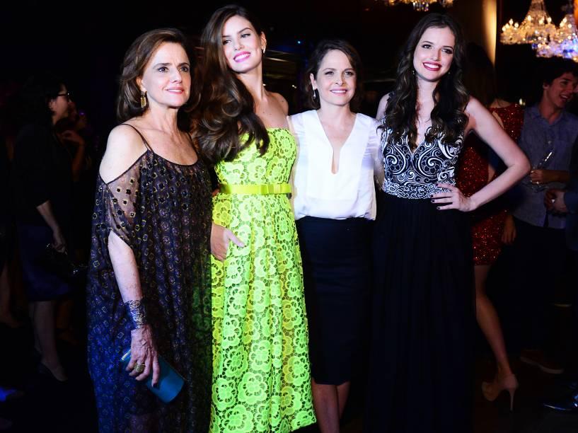 Camila Queiroz , Marieta Severo , Drica Moraes e Agatha Moreira
