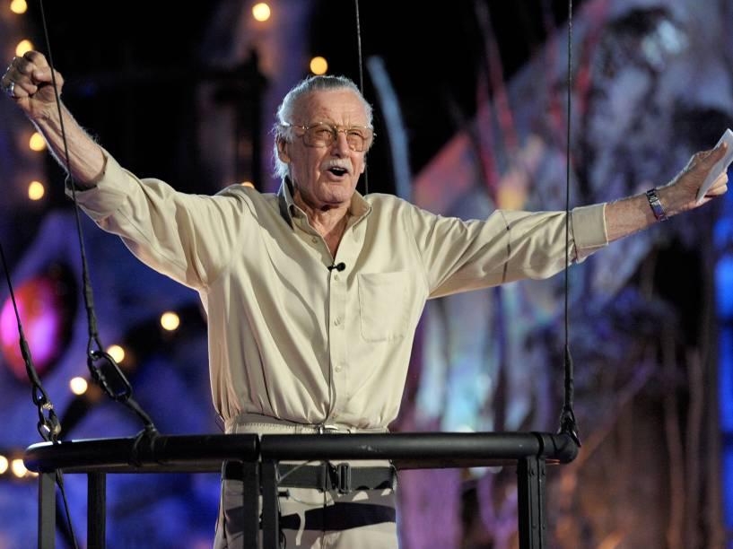 Stan Lee no Scream Awards, em 2009