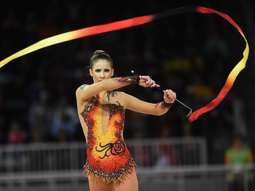 Seleção brasileira de ginástica rítmica começou as disputas do Pan nesta sexta-feira (17)