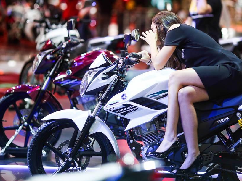Salão Duas Rodas, evento bianual com exposição dos principais lançamentos de motocicletas, bicicletas e acessórios, realizado no Pavilhão de Exposições do Anhembi
