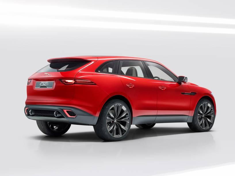 Jaguar crossover C-X17: sem previsão de chegar ao Brasil