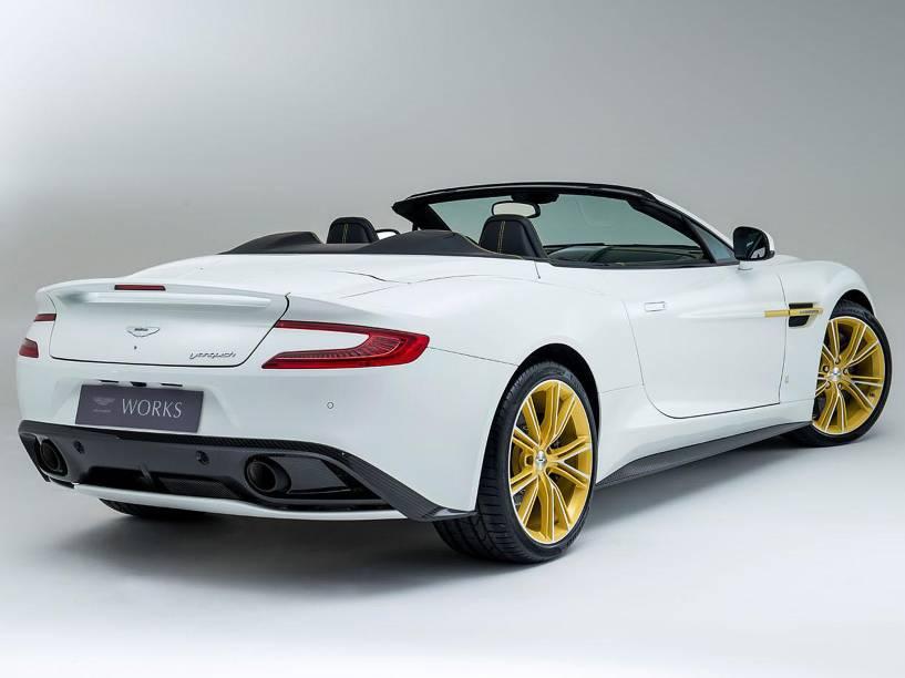 Edição comemorativa do Aston Martin Vanquish