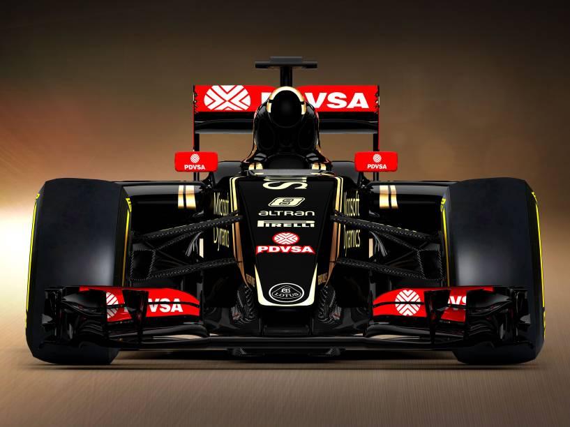 Lotus apresenta o E23, carro para temporada 2015 da Fórmula 1