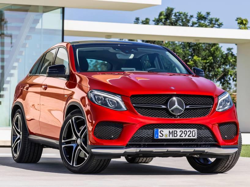 Mercedes GLE Coupé: tração integral e câmbio automático de nove marchas