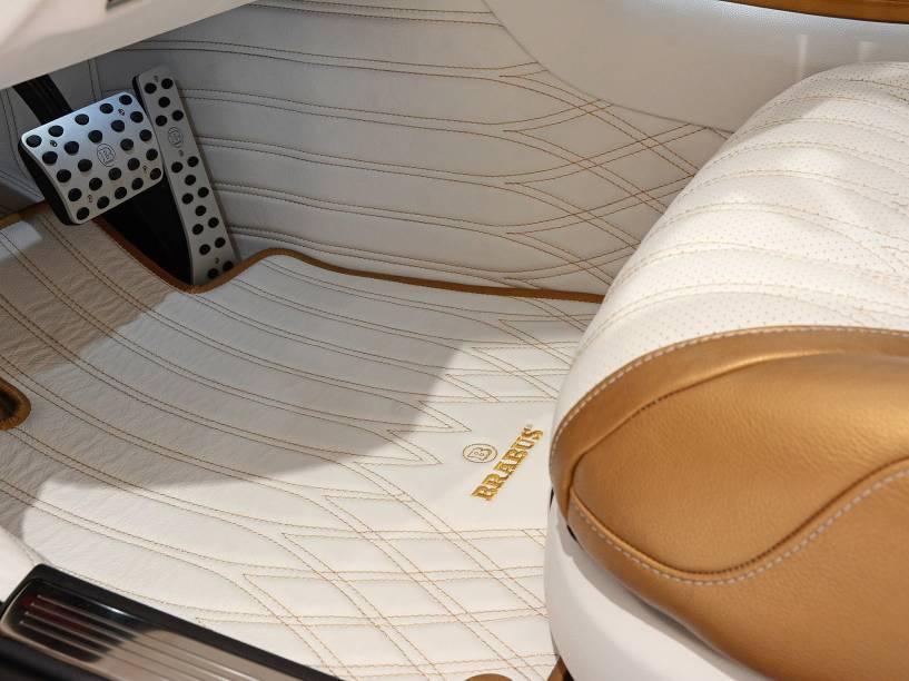 Mercedes-Benz S63 AMG preparado pela Brabus