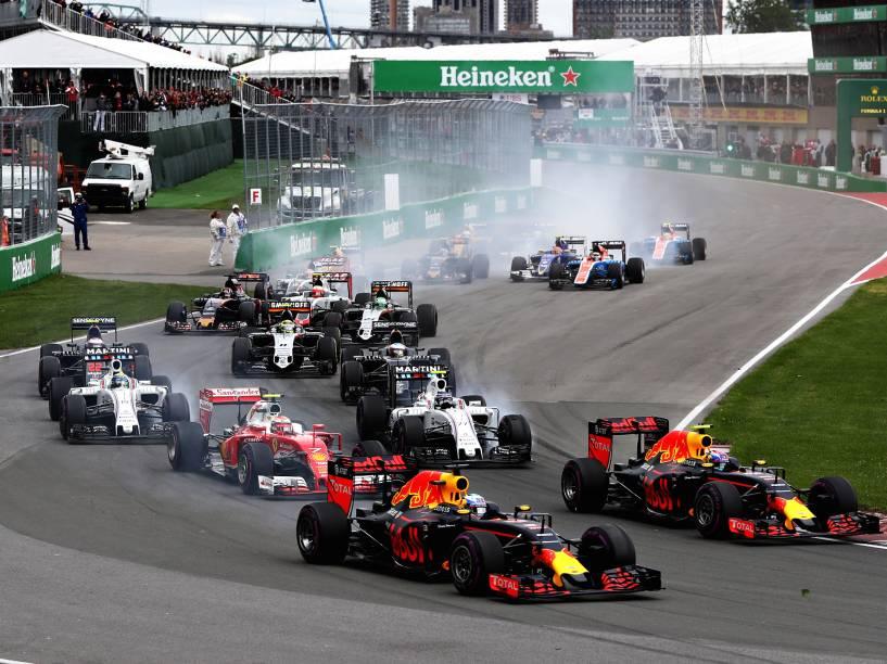Grande Prêmio do Canadá de Fórmula 1, realizado no Circuito Gilles Villeneuve, em Montreal - 12/06/2016