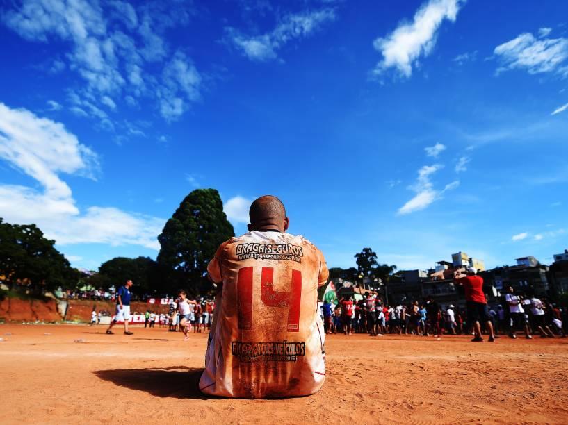 Final da Copa Lediane de 2014, entre as equipes da Portuguesa de Teotônio Vilela e 17 de Janeiro de Vila Rica, disputada no CDC Jardim Planalto, em Sapopemba, zona leste de São Paulo