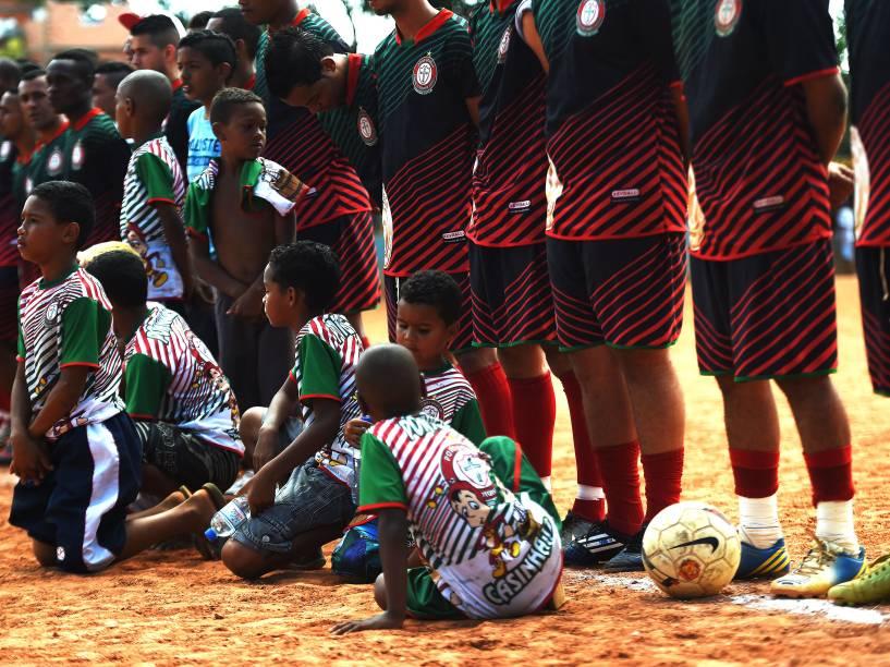 Final da Copa Leidiane de 2014, entre as equipes da Portuguesa de Teotônio Vilela e 17 de Janeiro de Vila Rica, disputada no CDC Jardim Planalto, em Sapopemba, zona leste de São Paulo