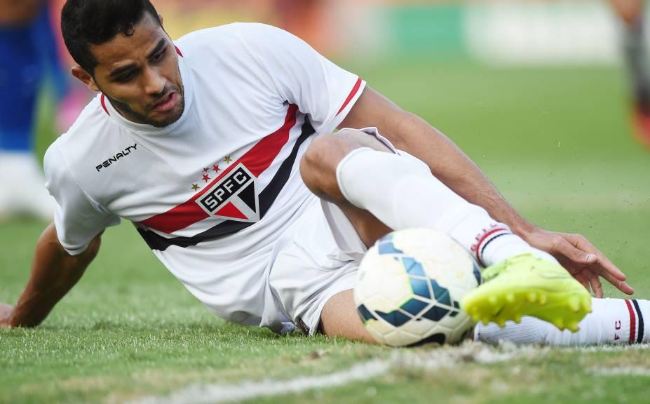 Alan Kardec marcou o segundo gol da vitória do São Paulo sobre o Cruzeiro