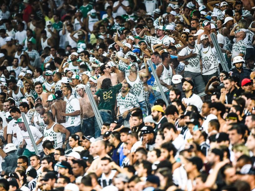 Torcida do Palmeiras faz a festa na Arena Corinthians (Itaquerão)
