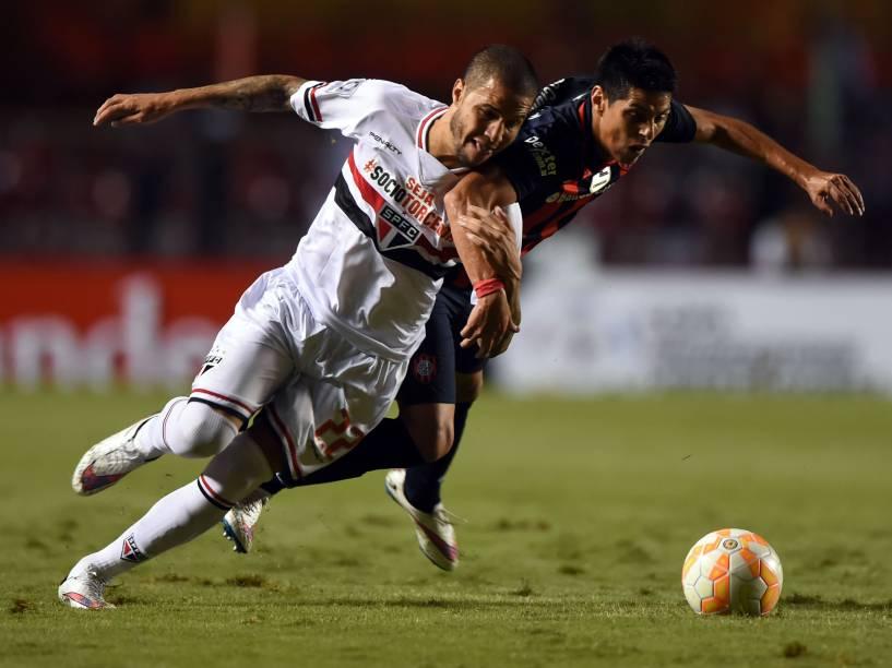 São Paulo e San Lorenzo se enfrentam pela fase de grupos da Libertadores no Morumbi - 18/03/2015