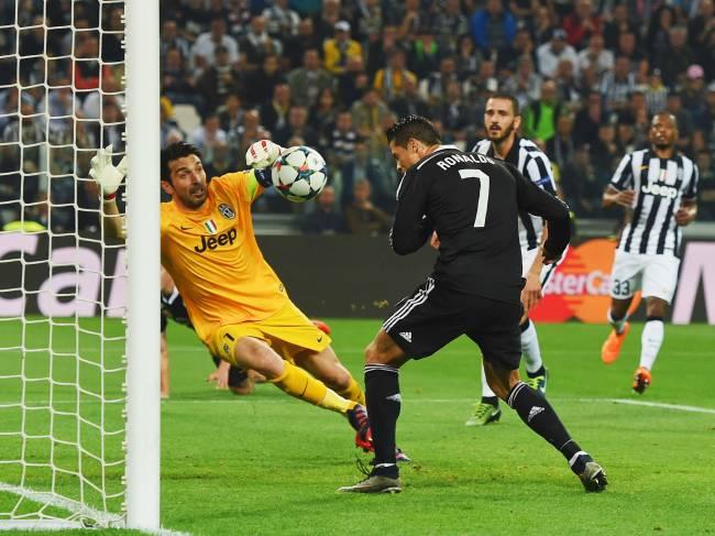 Semifinal Liga dos Campeões: Juventus x Real Madrid