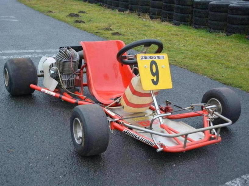 Kart DAP, usado por Ayrton Senna no Mundial da categoria em 1981