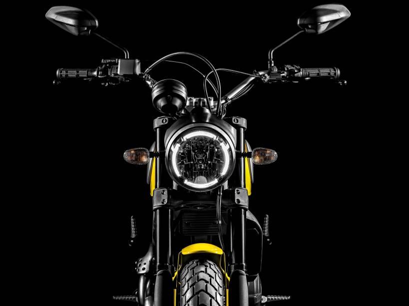 A Ducati apresentou na Alemanha a nova Scrambler, que será vendida no Brasil, em 2015, por R$ 30.000
