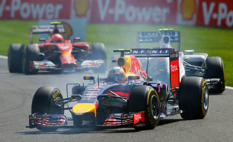 O piloto australiano Daniel Ricciardo (Red Bull) venceu neste domingo (24) o Grande Prémio da Bélgica de Fórmula 1, 12.ª prova do Campeonato do Mundo, que decorreu no circuito de Spa-Francorchamps