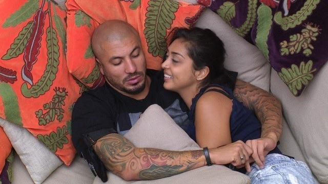 Fernando e Amanda no BBB15