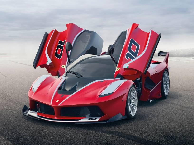 A nova Ferrari FXX K: só 32 unidades - todas vendidas