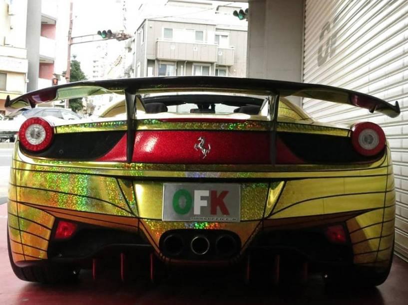 Ferrari Golden Shark
