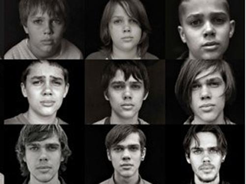 As diferentes fases do ator Ellar Coltrane, protagonista de Boyhood