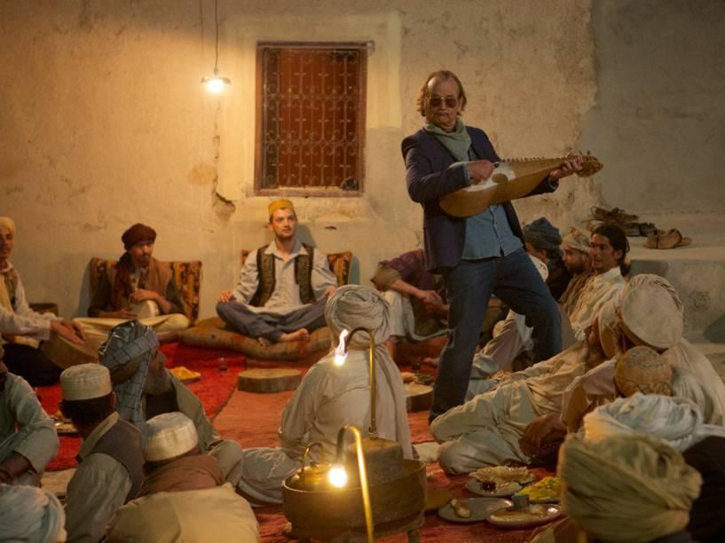 Bill Murray no filme Rock em Cabul