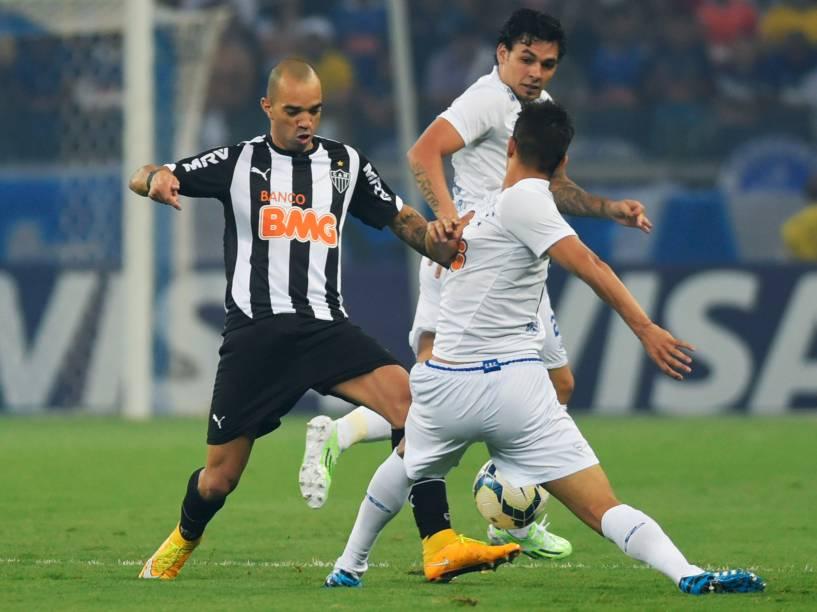 Jogador do Atlético-MG, Diego Tardelli durante segundo Jogo da final da Copa do Brasil, no Estádio Mineirão em Belo Horizonte