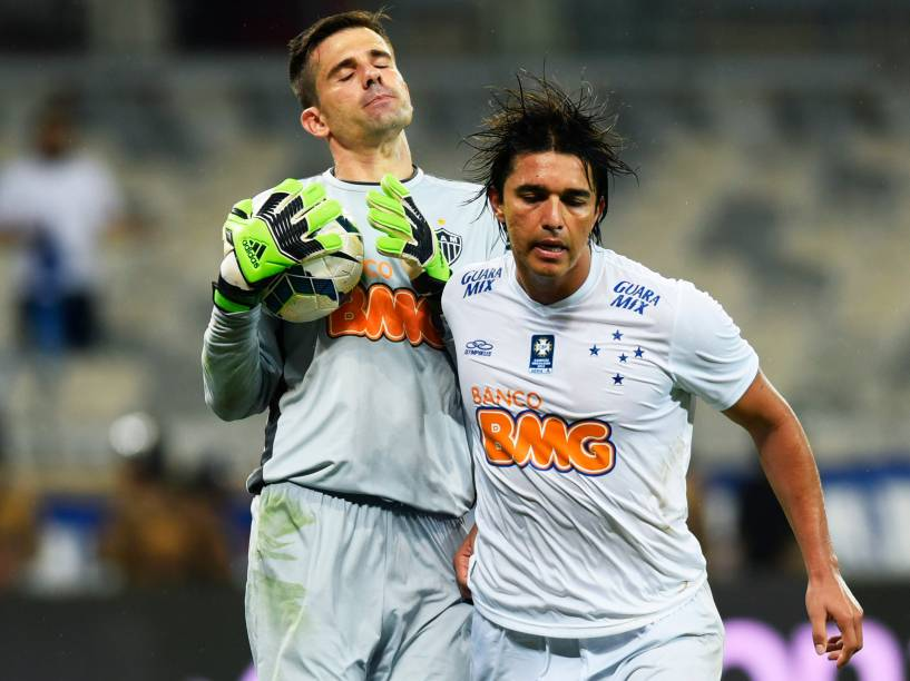O goleiro Victor do Atlético-MG durante segundo Jogo da final da Copa do Brasil, no Estádio Mineirão em Belo Horizonte